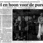 Noord Holland Dagblad november 2004 door Rob Bouber